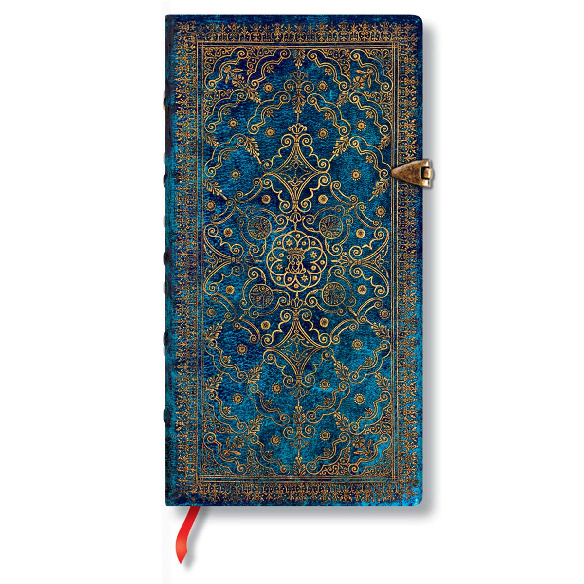 Paperblanks Equinoxe Azure Slim 3.5 x 7 inch Lined Journal