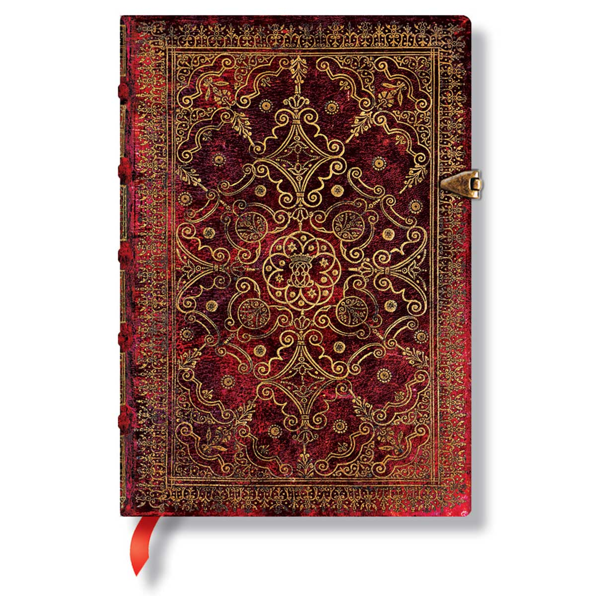 Paperblanks Equinoxe Carmine Midi 5x7 Inch Lined Journal