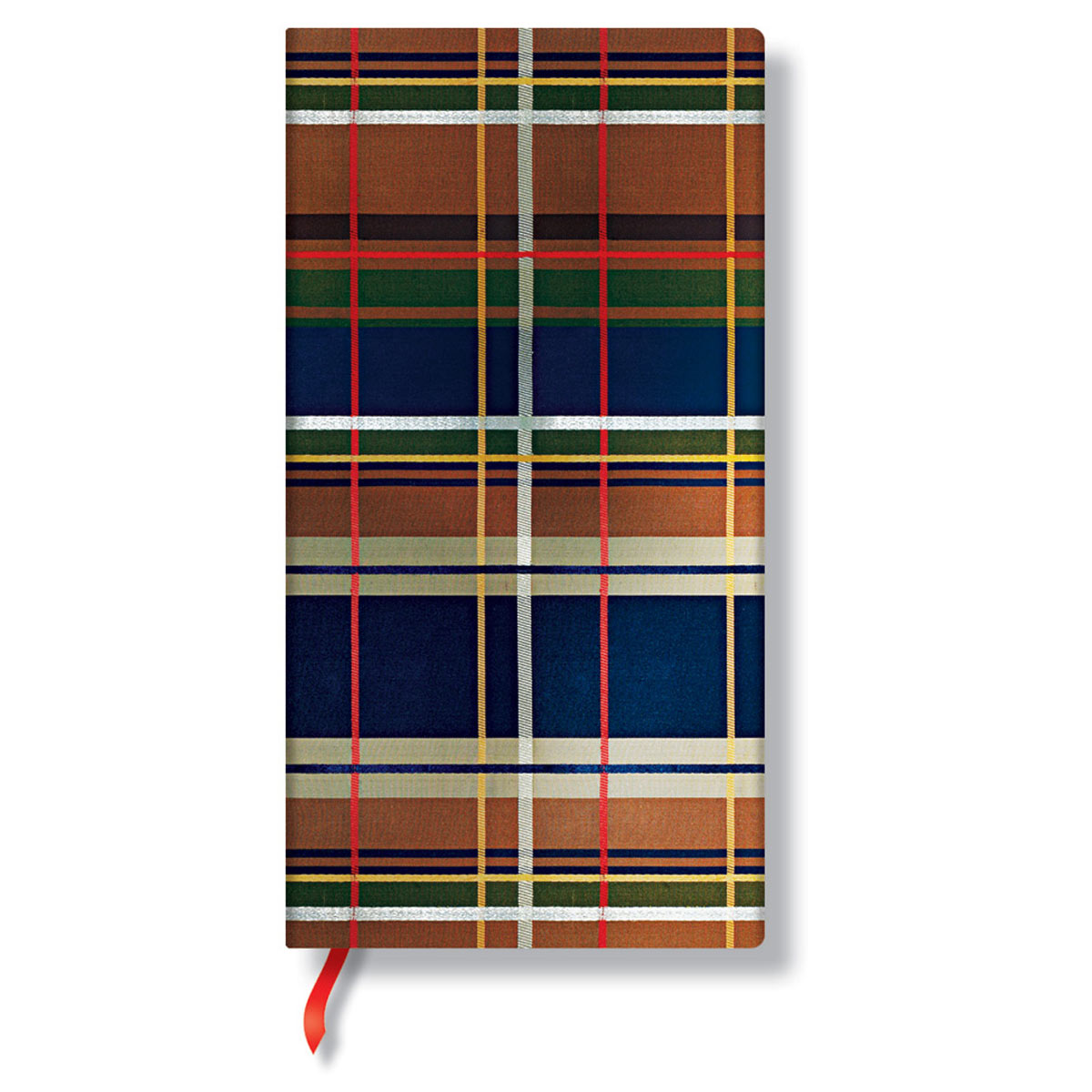 Paperblanks Mad For Plaid Chelsea Slim 3.5 x 7 Inch Journal