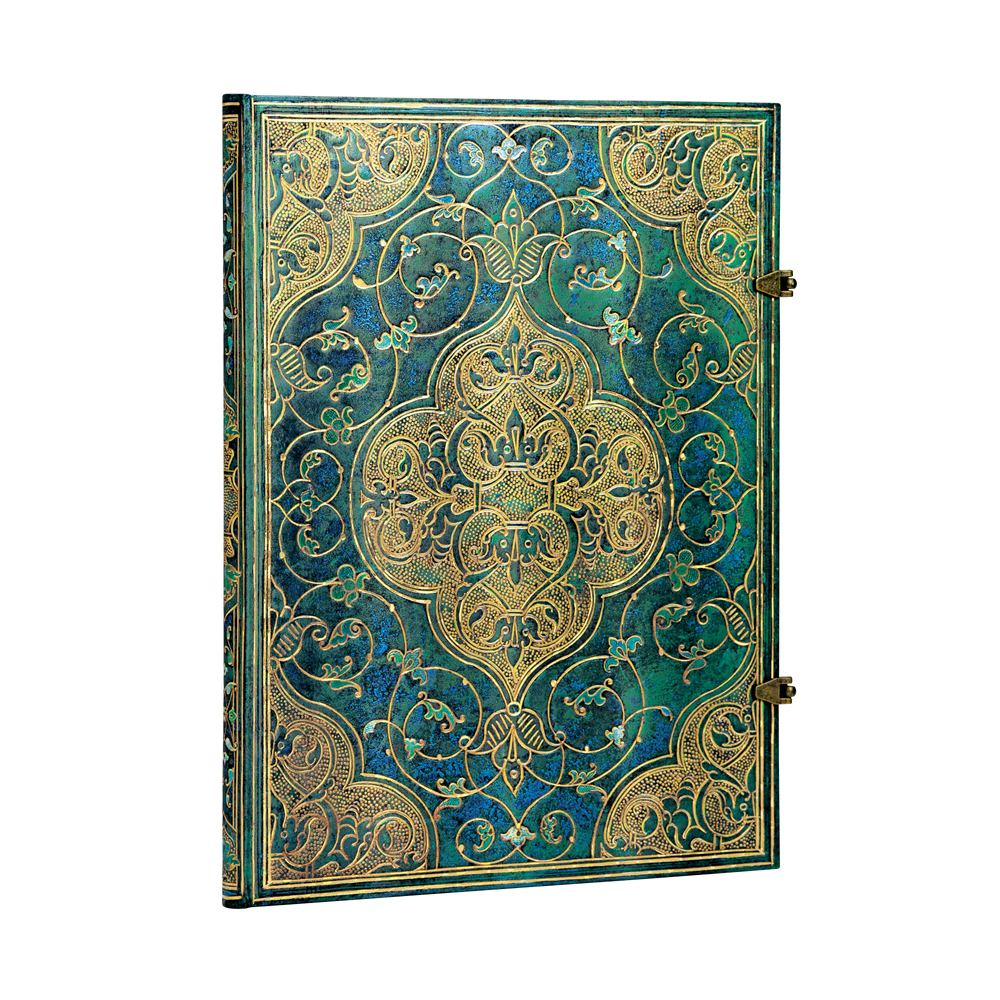 Paperblanks Grande Turquoise Chronicles 8.25 x11.75 Journal