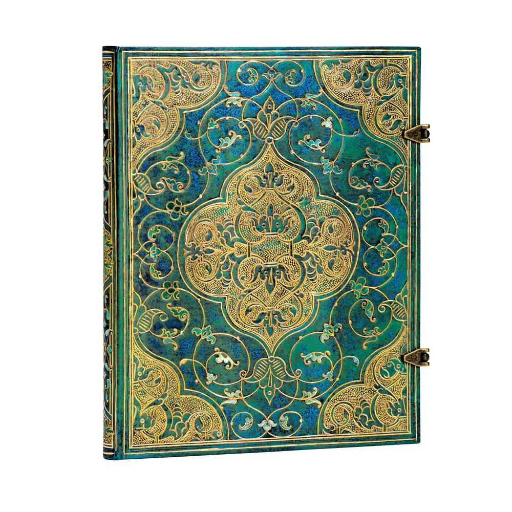"Paperblanks Ultra Turquoise Chronicles 7"" x 9"""