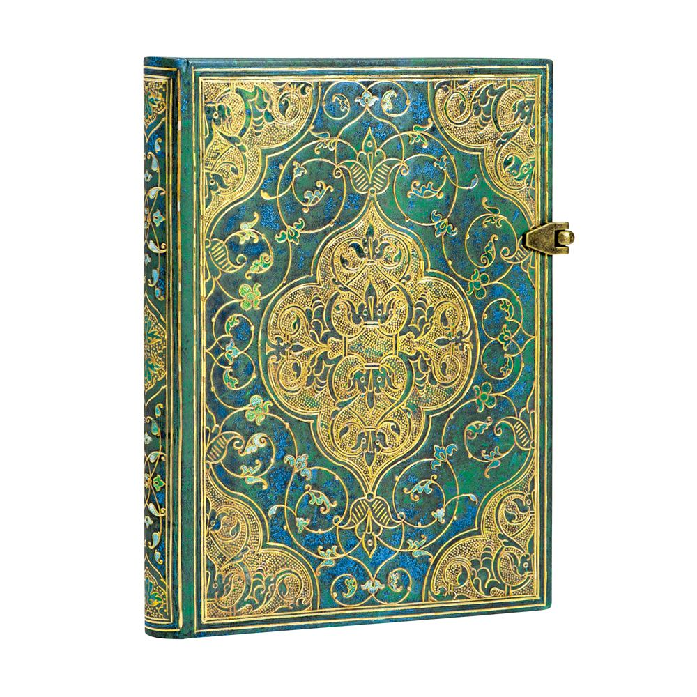 Paperblanks Midi Turqoise Chronicles 5x7 inch Journal