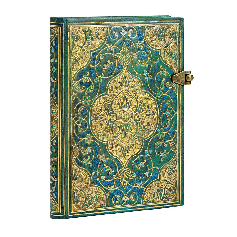 Paperblanks Mini Turquoise Chronicles 3.75 x 5.5 inch