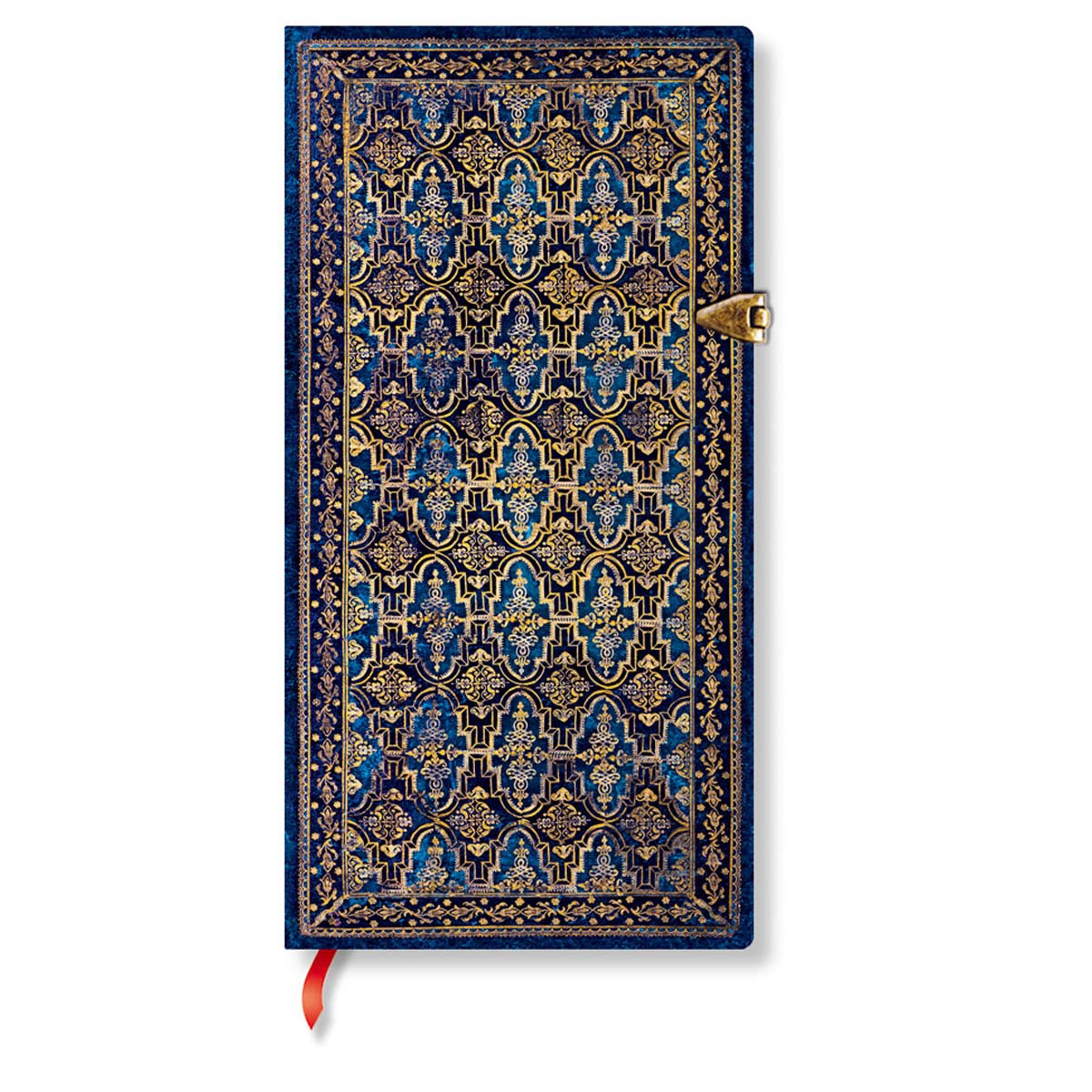 Paperblanks Slim Blue Rhine 3.75 x 7 Inch Journal