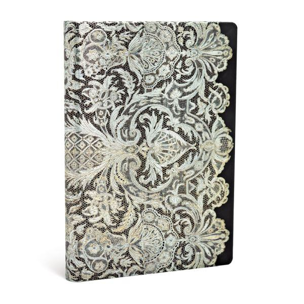 Paperblanks Lace Allure Ivory Veil Mini 3.75 x 5.5 Inch Journal