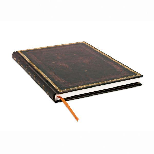 Paperblanks Old Leather Classics Black Moroccan Ultra Journal