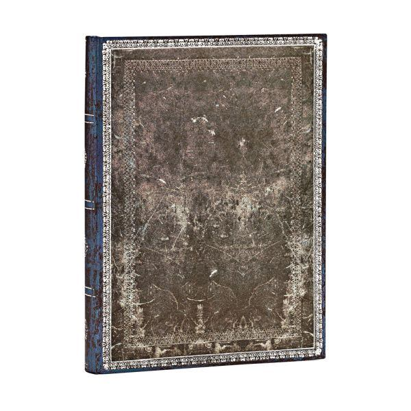 Paperblanks Old Leather Classics, Midnight Steel Midi 5x7Journal