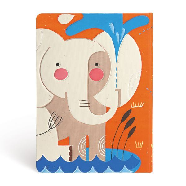Paperblanks Tracy Walker, Baby Elephant Midi Journal