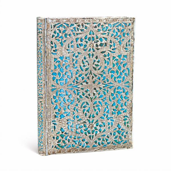 "Paperblanks Signature Editions Maya Blue Midi Journal 5"" x 7"""