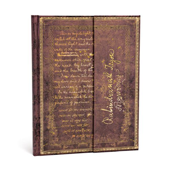 "Paperblanks Tagore, Gitanjali Ultra 7"" x 9"" Journal"