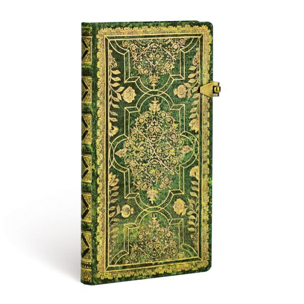 Paperblanks Fall Filigree Juniper Slim 3.5 x 7 Inch Journal