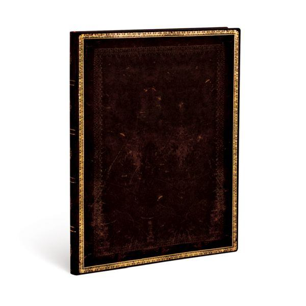 Paperblanks Flexis, Black Moroccan Ultra 144 Lined Pages