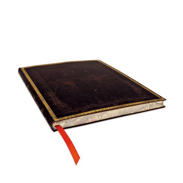 Paperblanks Flexis Old Leather Black Moroccan Ultra 176 Pages