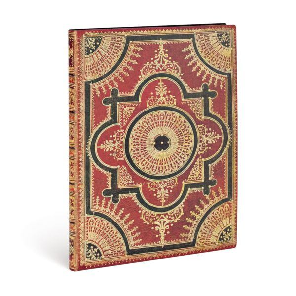 Paperblanks Flexis, Ventaglio Rosso Kraft, Ultra 176 Lined