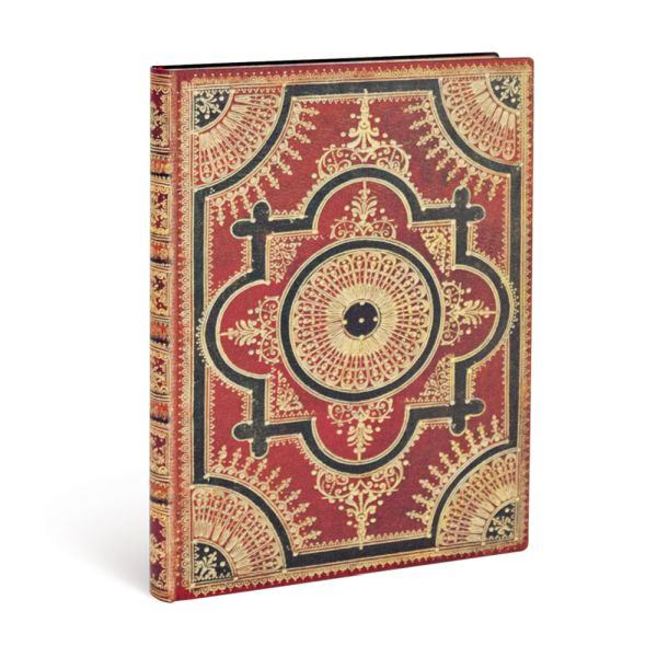 Paperblanks Flexis, Ventaglio Rosso Kraft Ultra 240 Lined