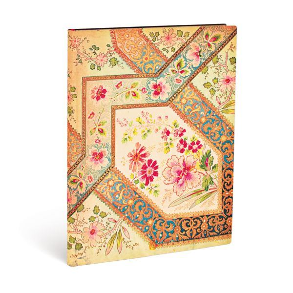 Paperblanks Flexis, Filigree Floral Ivory, Ultra 176 Lined Pages