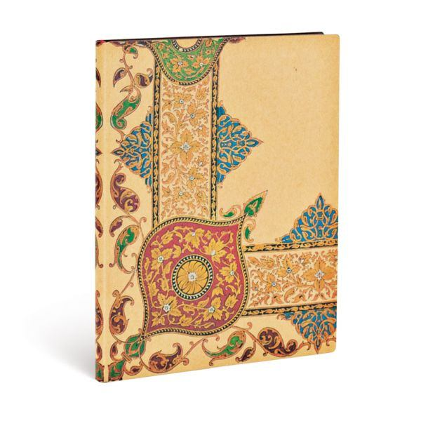 Paperblanks Flexis, Visions Paisley Ivory Kraft Ultra 144 Lined