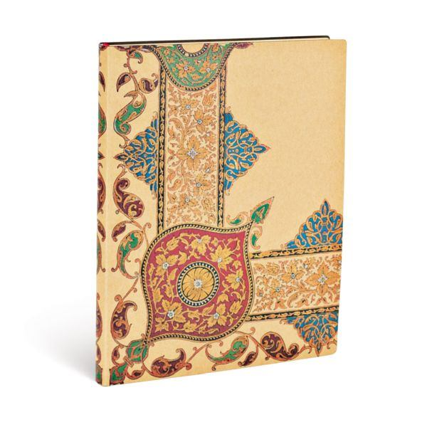Paperblanks Flexis, Visions Paisley Ivory Kraft Ultra 240 Lined