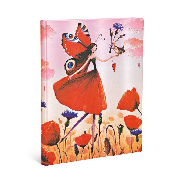 Paperblanks 5-Year Snapshot Journal Poppy Field