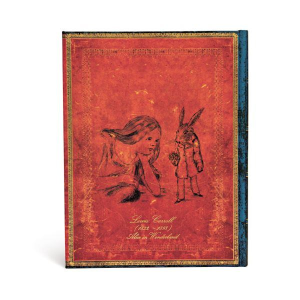 Paperblanks, Lewis Carroll, Alice Ultra 7 x 9 Inch Journal
