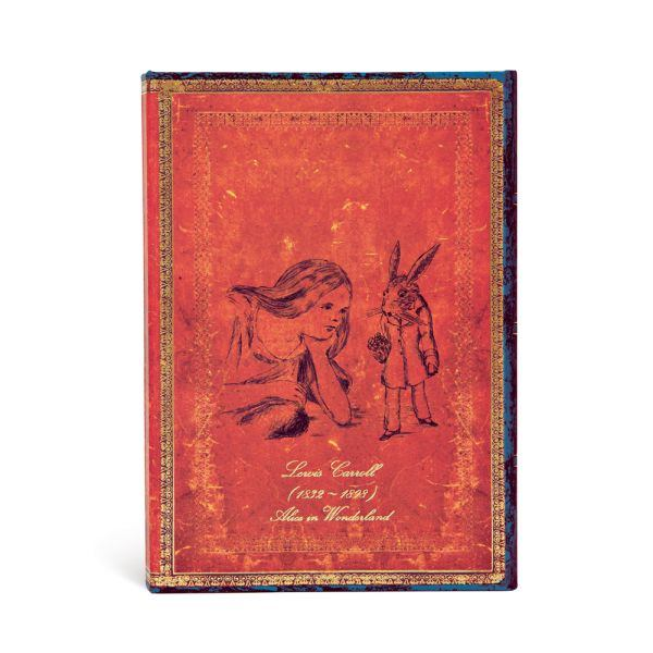 Paperblanks, Lewis Carroll, Alice Midi 5 x 7 Inch Journal