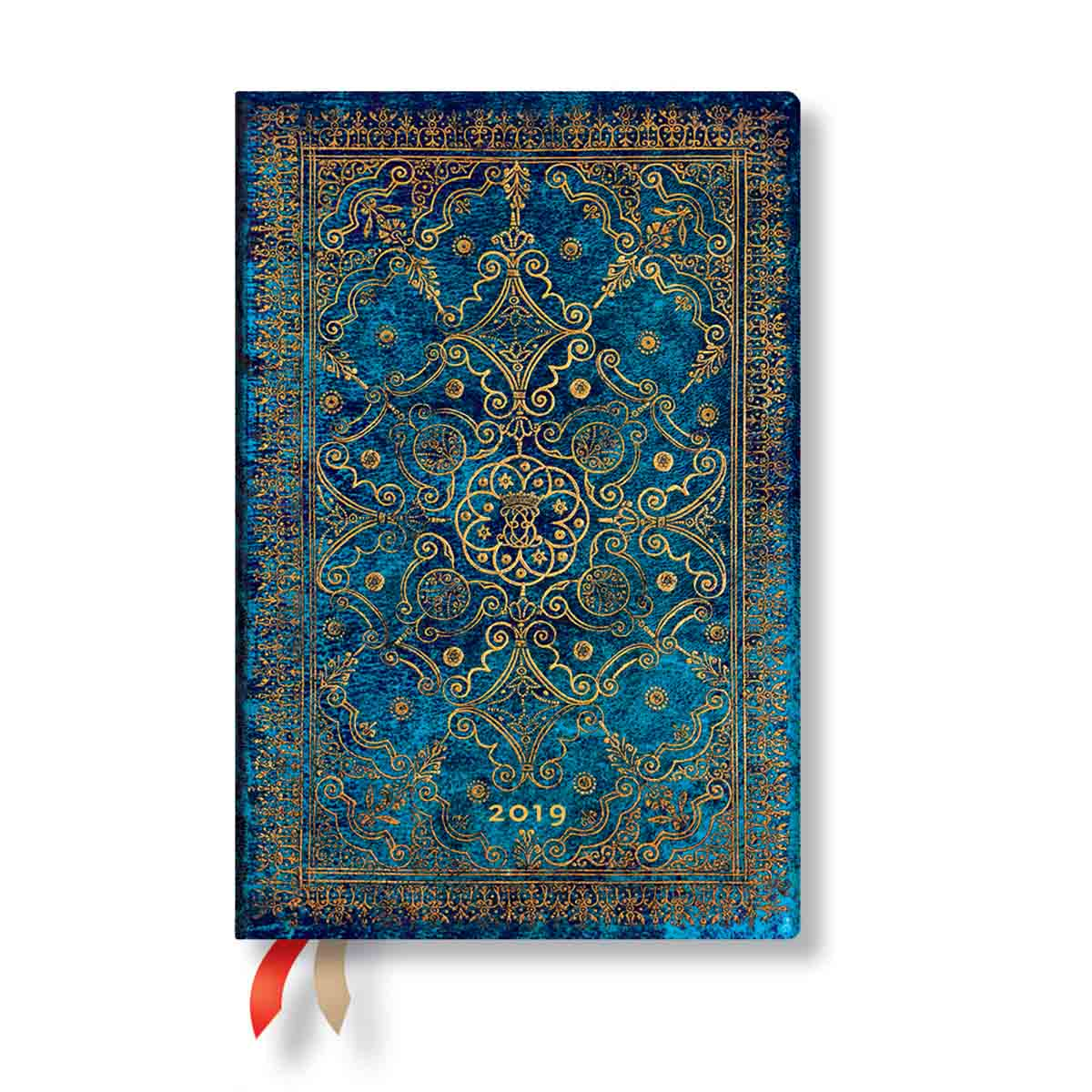 Paperblanks Mini Azure 2019 Week-At-A-Time Planner