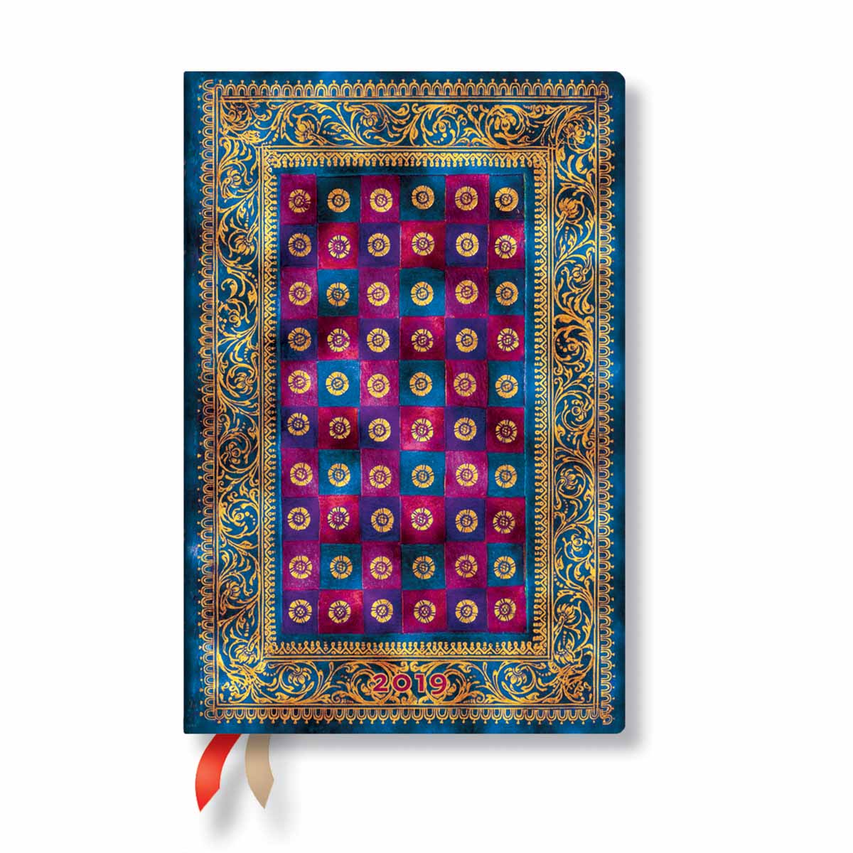 Paperblanks Mini Celeste 2019 Week-At-A-Time Planner