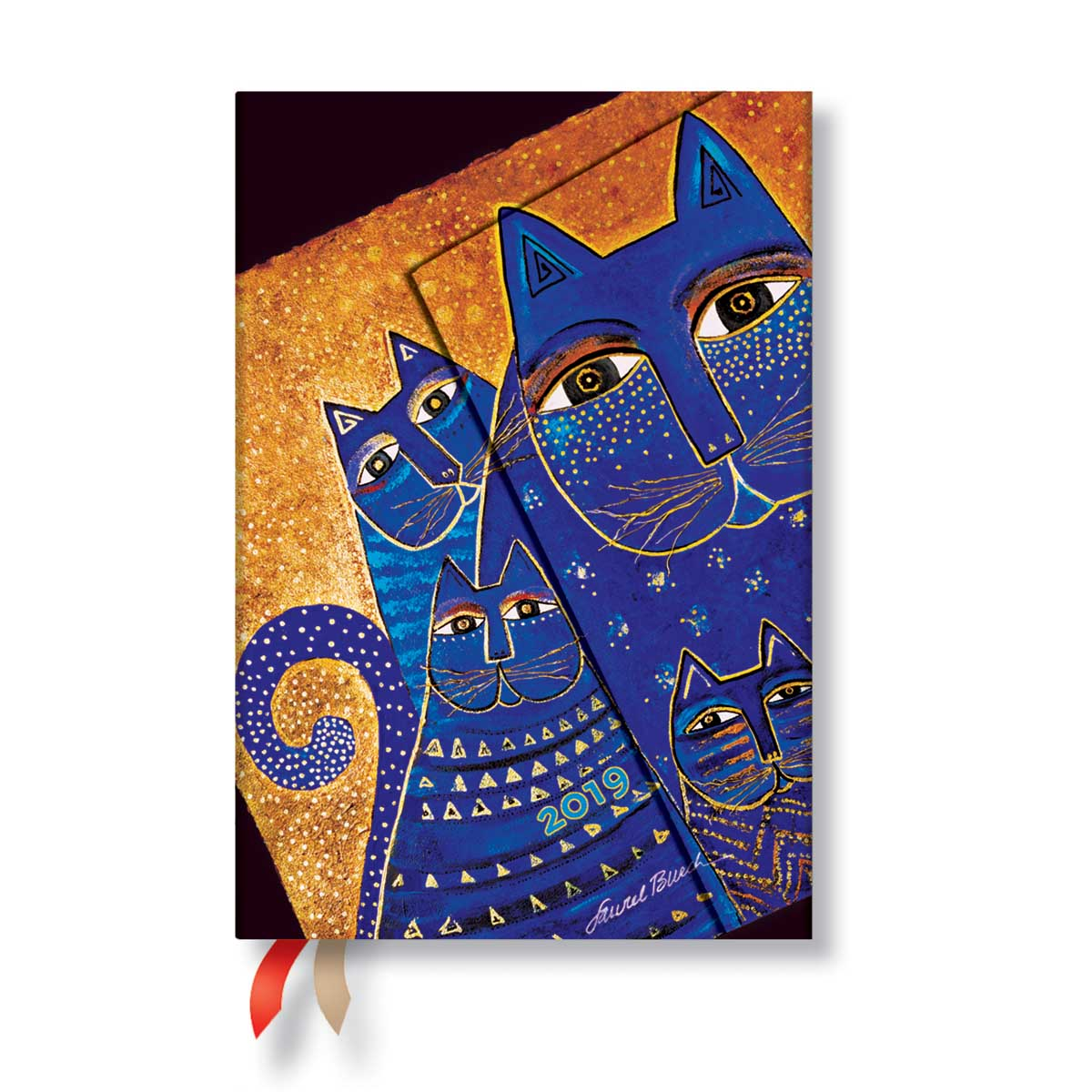 Paperblanks Mini Mediterranean Cats Week-At-A-Time Planner