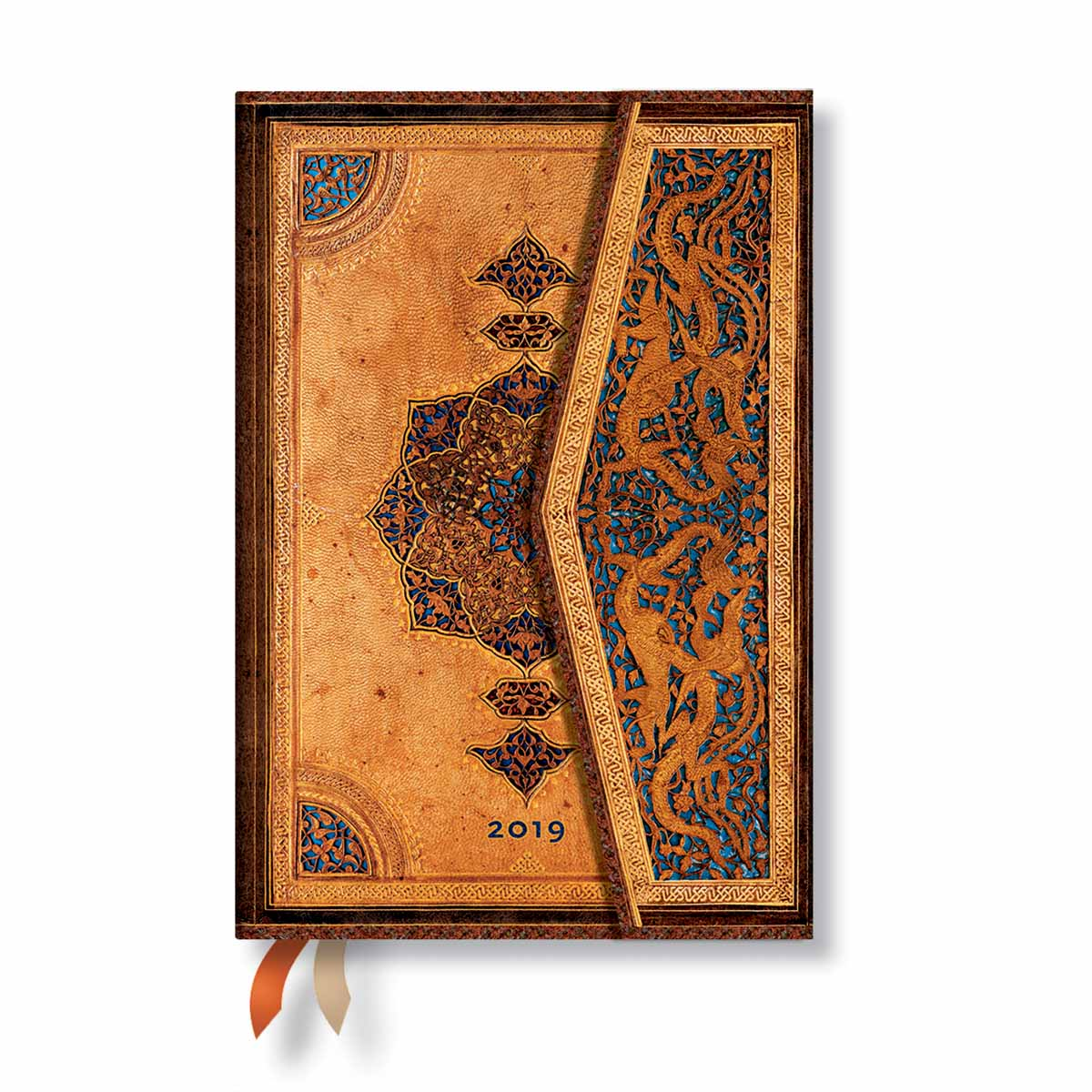 Paperblanks Mini Safavid 2019 Week-At-A-Time Planner