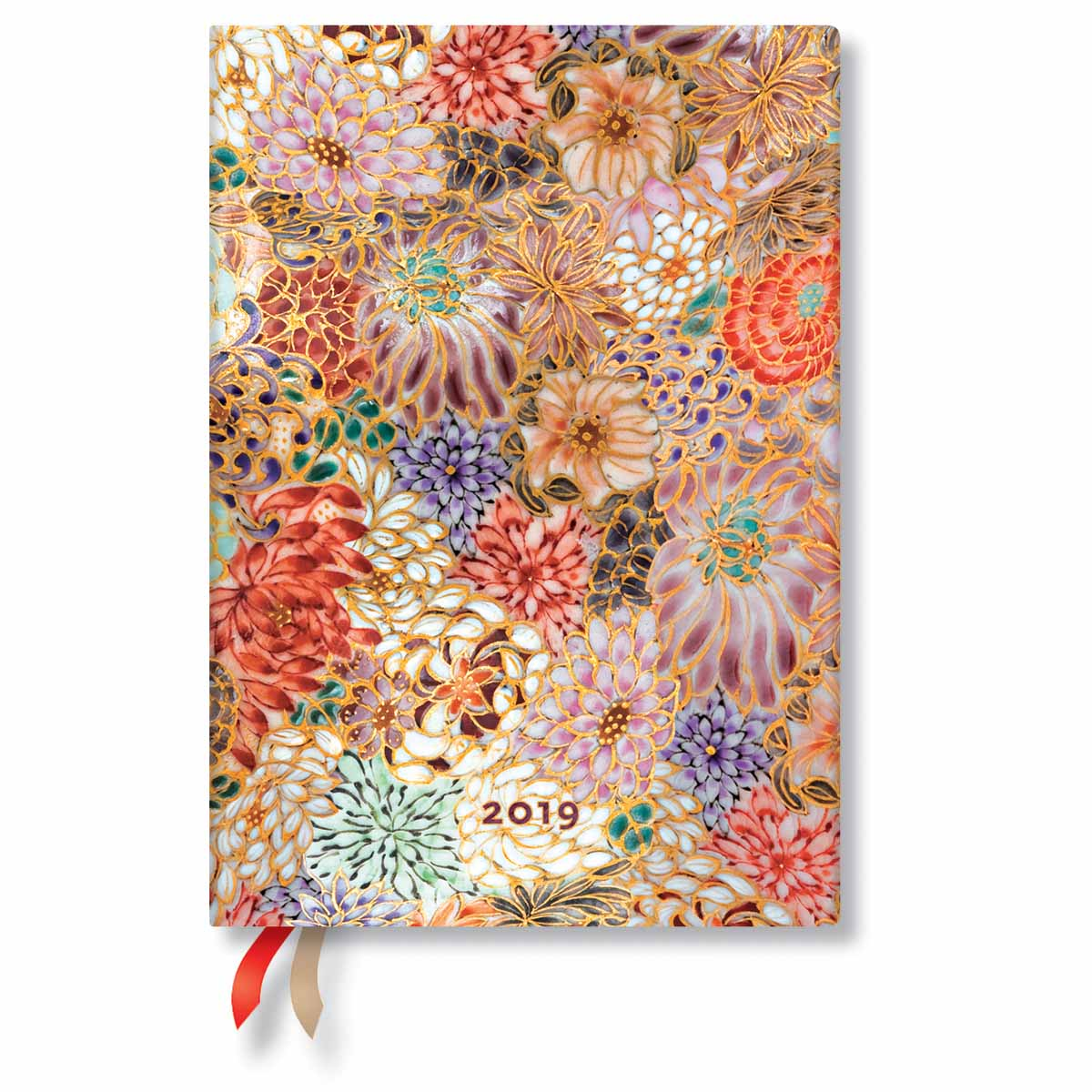 Paperblanks Midi Kikka 2019 Day-At-A-Time Planner