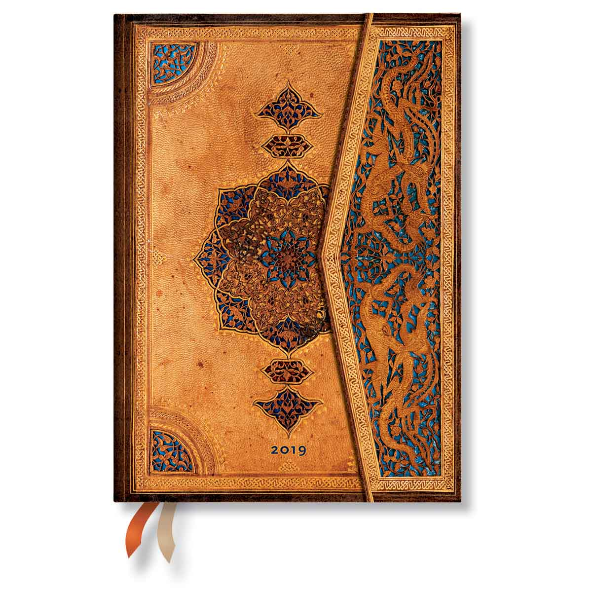 Paperblanks Midi Safavid 2019 Day-At-A-Time Planner
