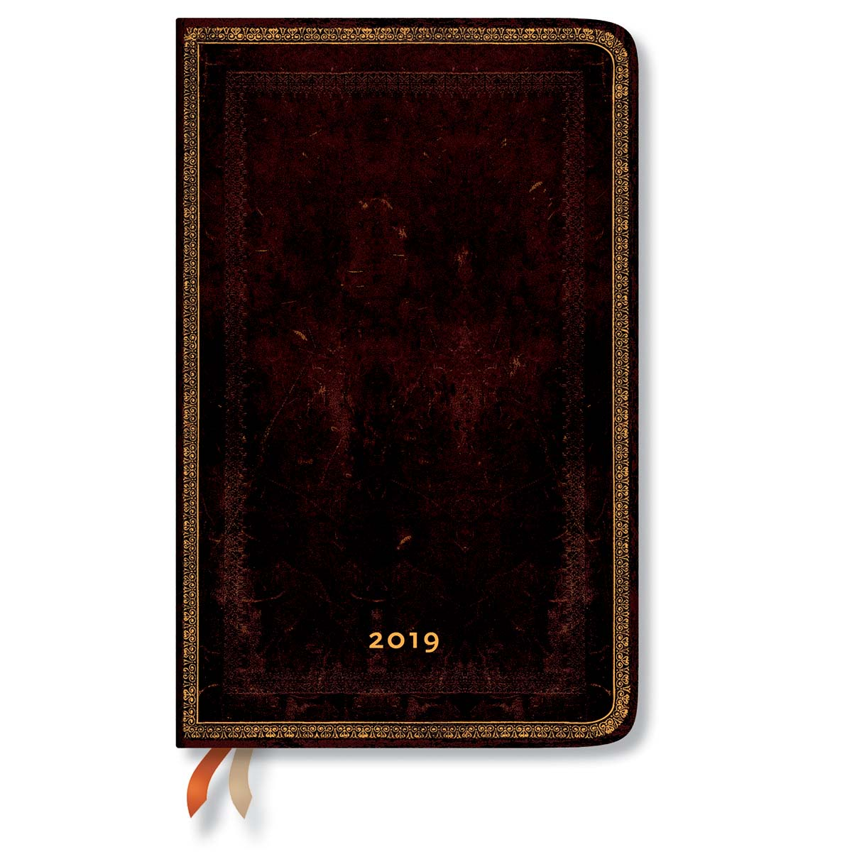 Paperblanks Maxi Black Moroccan 2019 Week-At-A-Time Planner