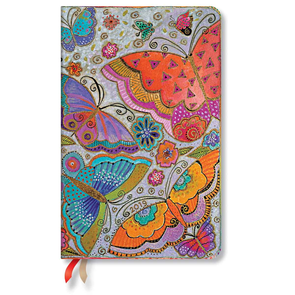 Paperblanks Maxi Flutterbyes 2019 Week-At-A-Time Planner