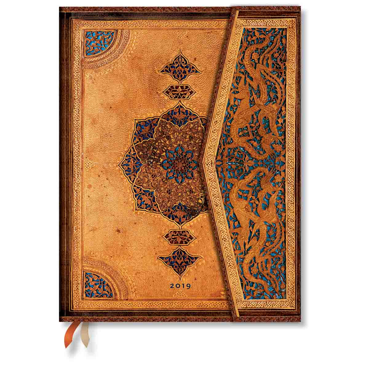 Paperblanks Ultra Safavid 2019 Week-At-A-Time Planner