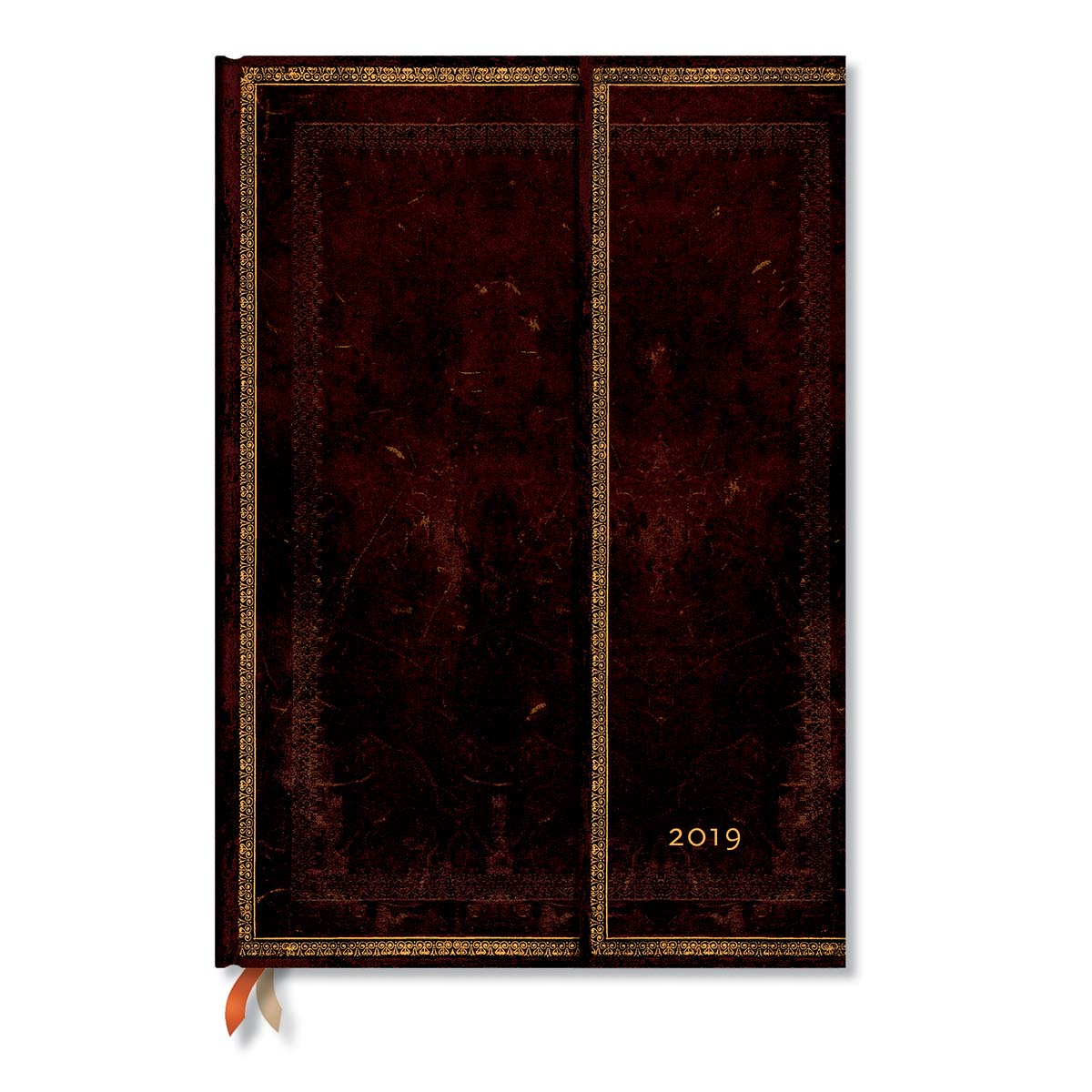 Paperblanks Grande Black Moroccan 2019 Week-at-a-time Planner