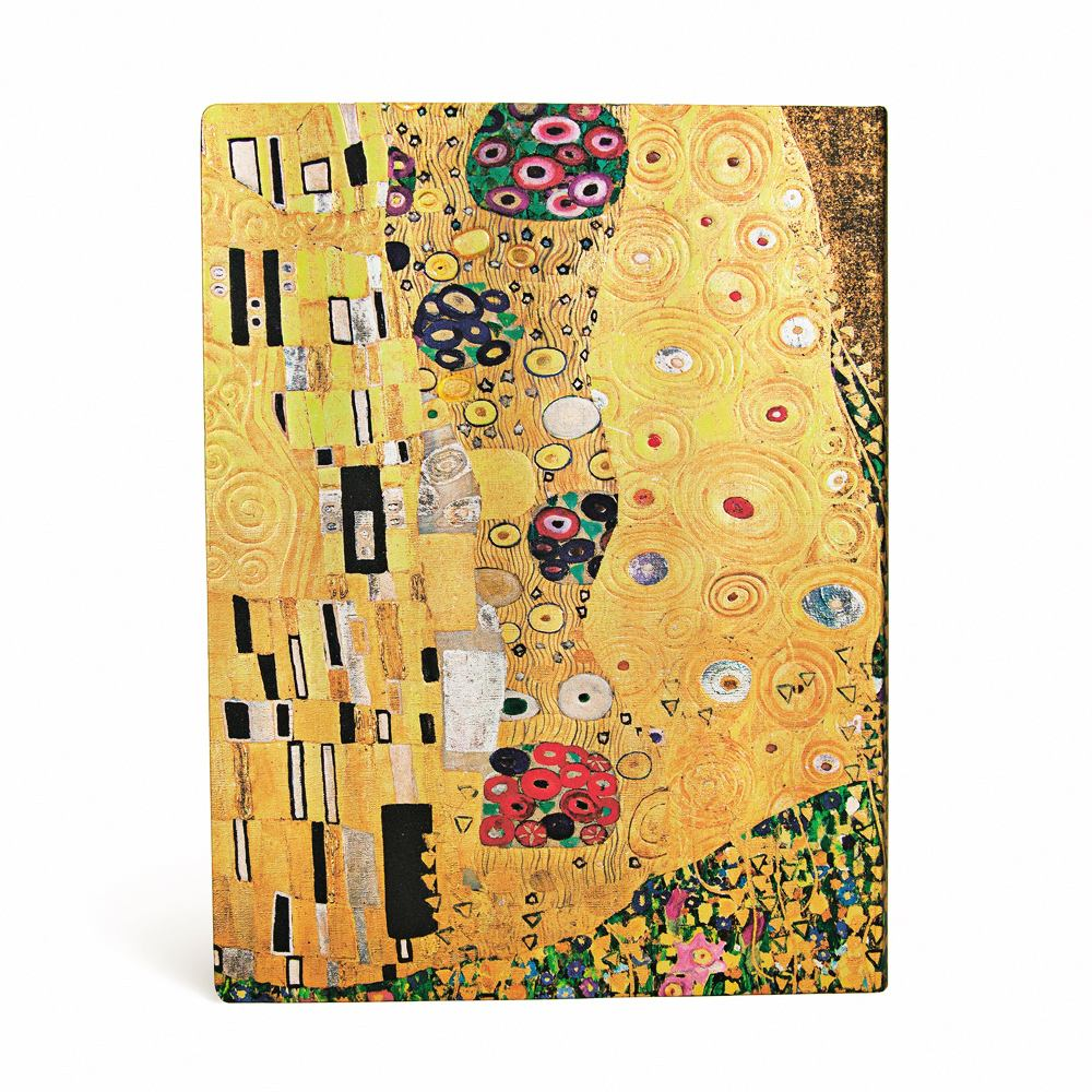 "Paperblanks Klimt 100th, ""The Kiss"" Ultra 7 x 9 Inch Journal"