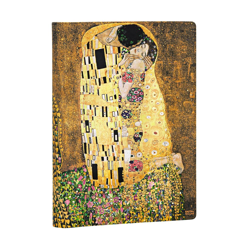 "Papeblanks Klimt 100th, ""The Kiss"" Midi 5 x 7 Inch Journal"