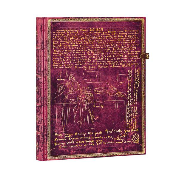 Paperblanks, The Bronte Sisters,Ultra 7 x 9 Inch Journal