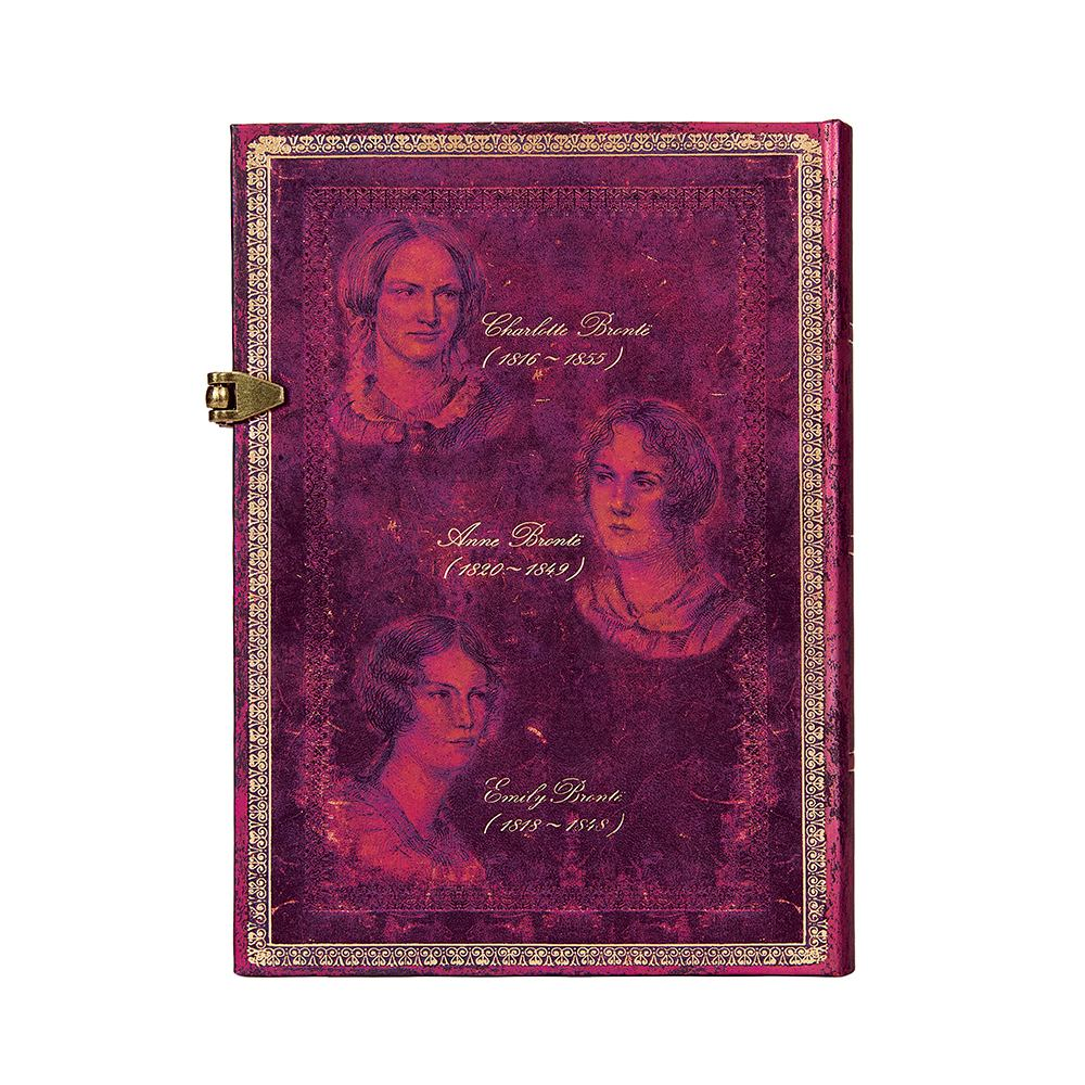 Paperblanks, The Bronte sisters, Midi 5 x 7 Inch Journal