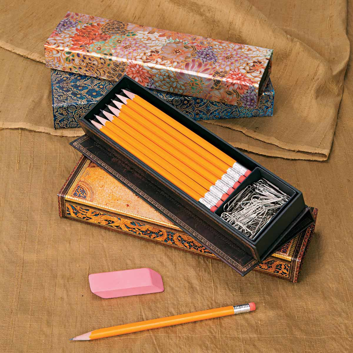 Paperblanks Black Moroccan Pencil Case