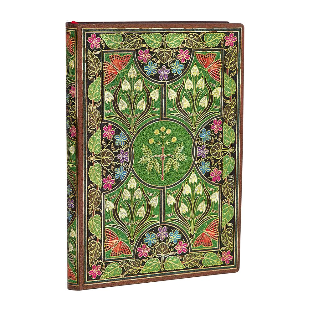 Paperblanks Flexis, Poetry in Bloom, Mini 176 Pages