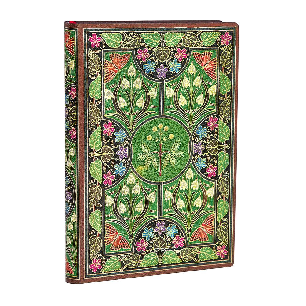 Paperblanks Flexis, Poetry in Bloom, Mini 240 pages