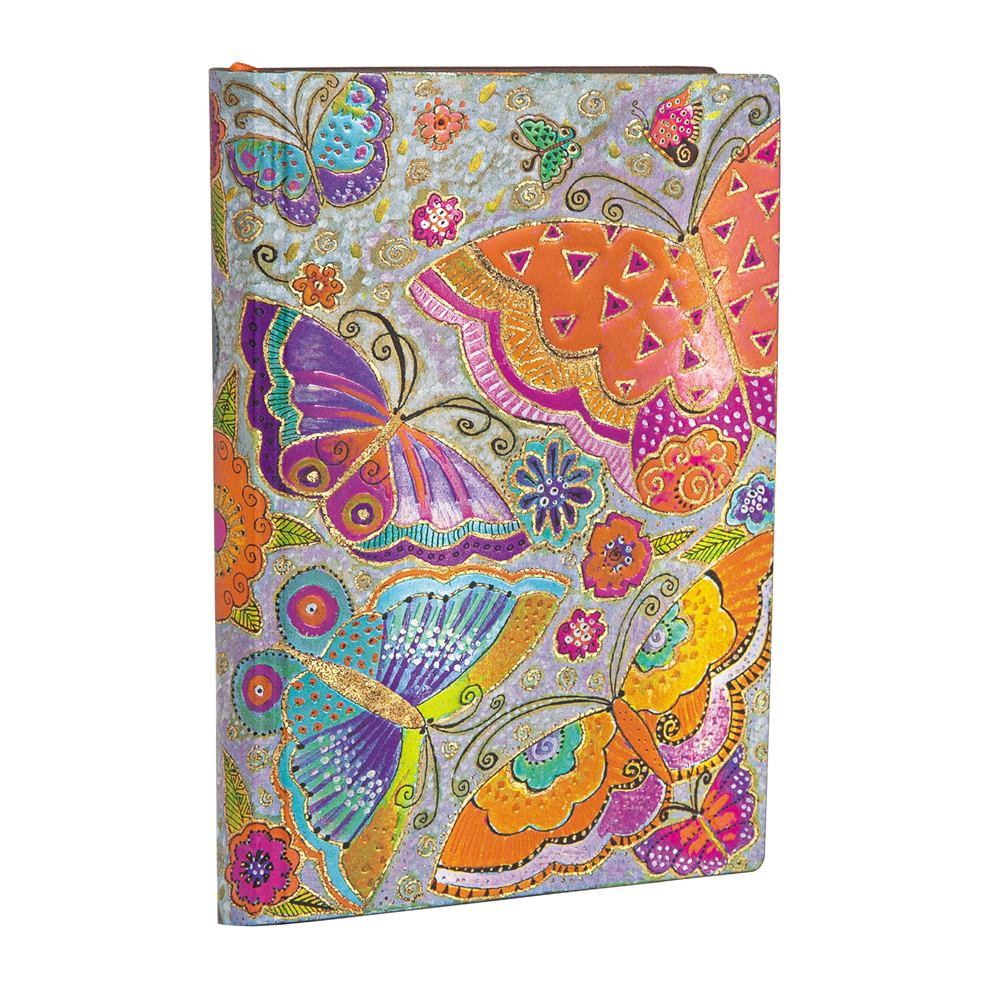 Paperblanks Flexis, Flutterbyes, Mini 240 Lined Pages