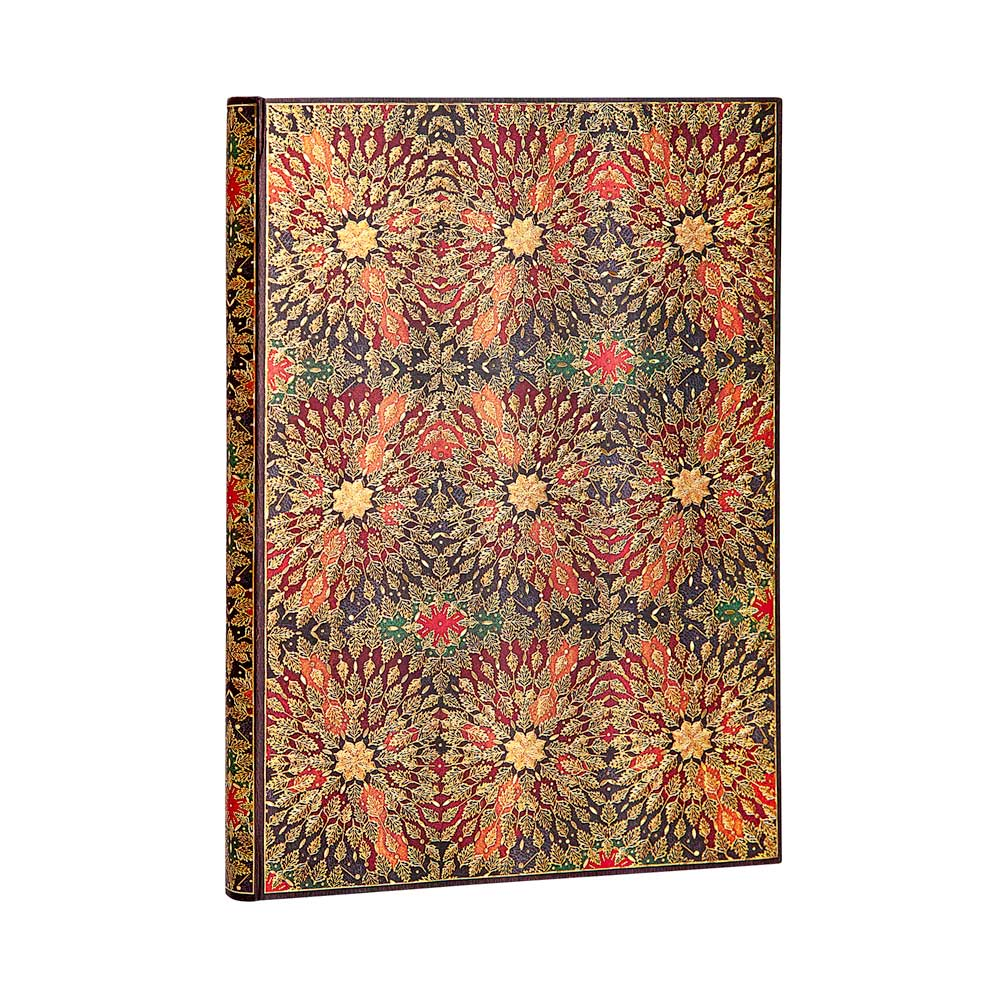 Paperblanks, Fire Flowers, Grande Unlined 128 Pages