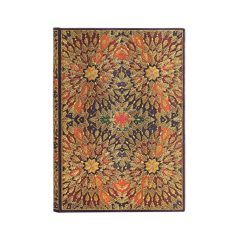 Paperblanks, Fire Flowers, Midi 5x 7 Inch Journal