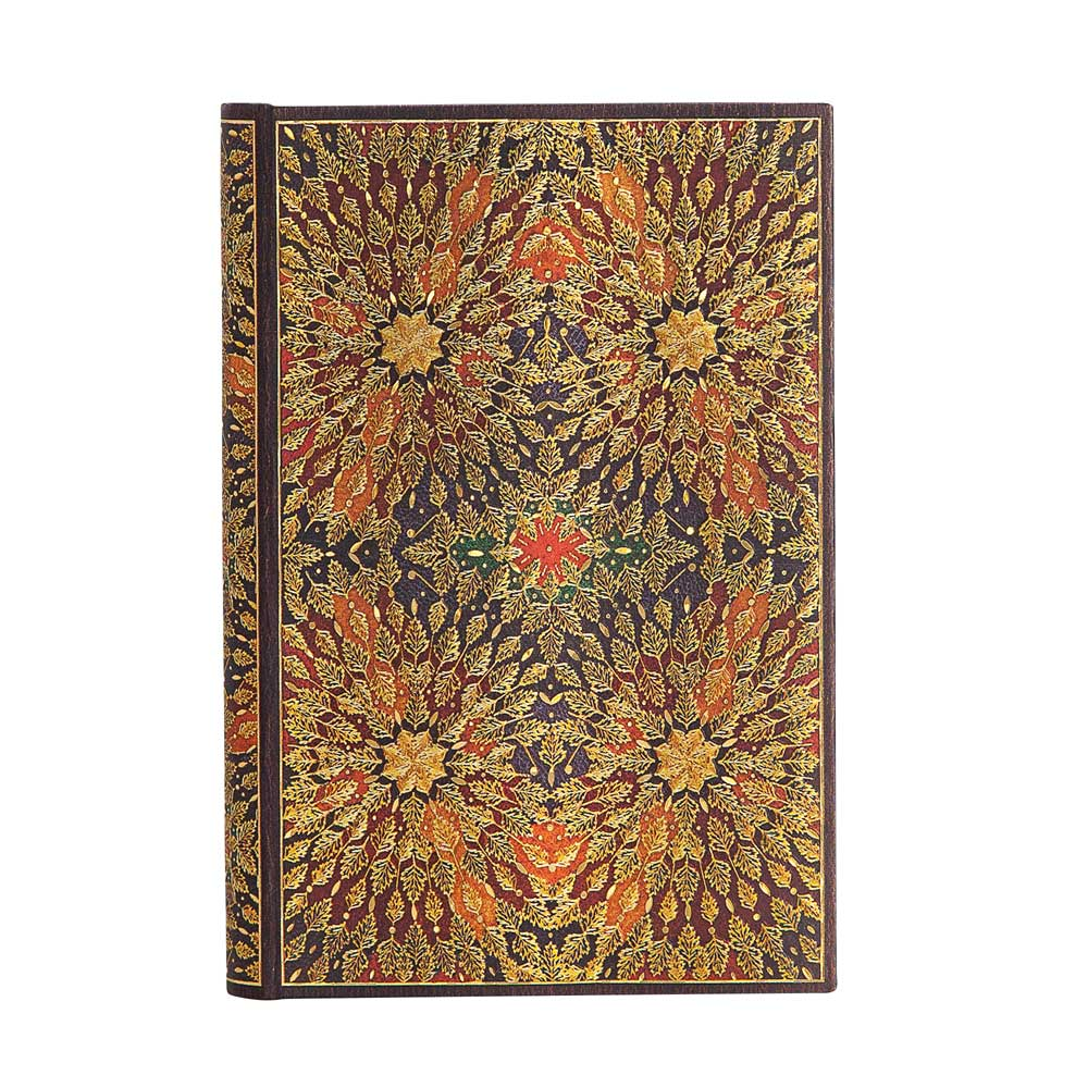 Paperblanks, Fire Flowers, Mini 3.75 x 5.5 Inch Journal