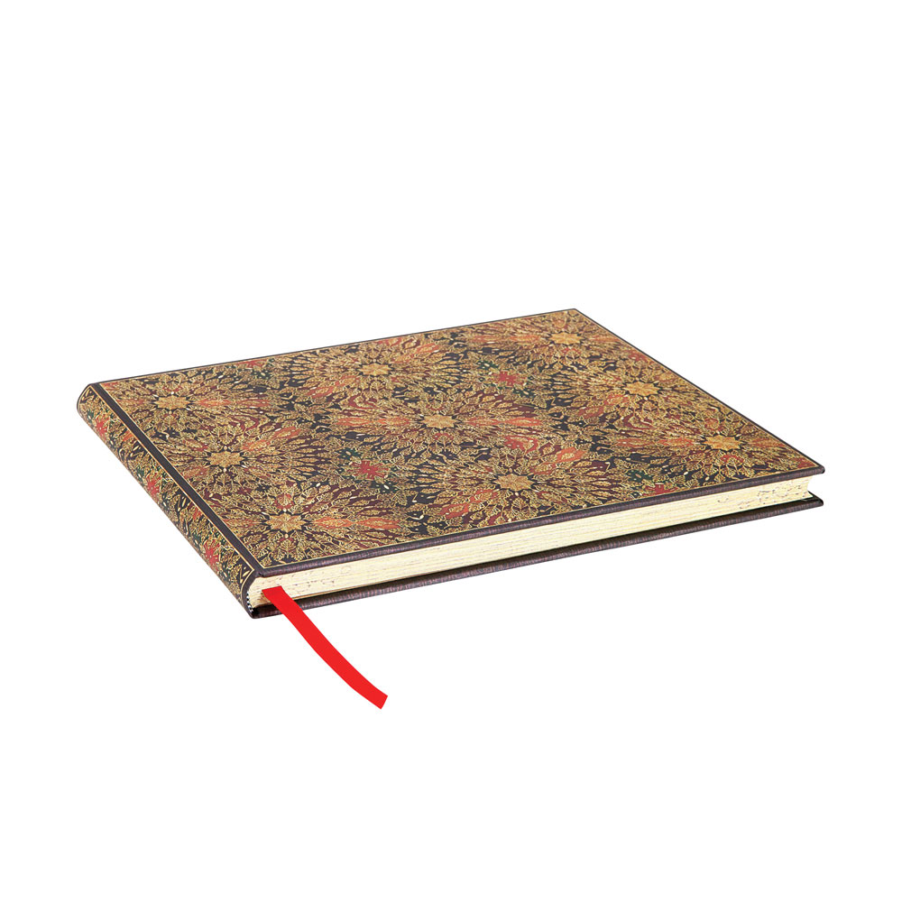 Paperblanks, Fire Flowers, Guest Book Unlined 144 Pages