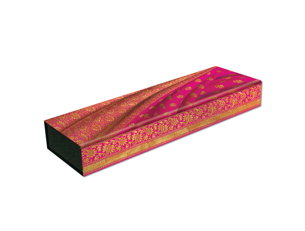 Paperblanks, Gulabi, Pencil Case with Folding Magnetic Closure