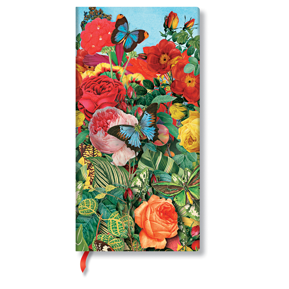 Paperblanks, Butterfly Garden, Slim Lined Journal