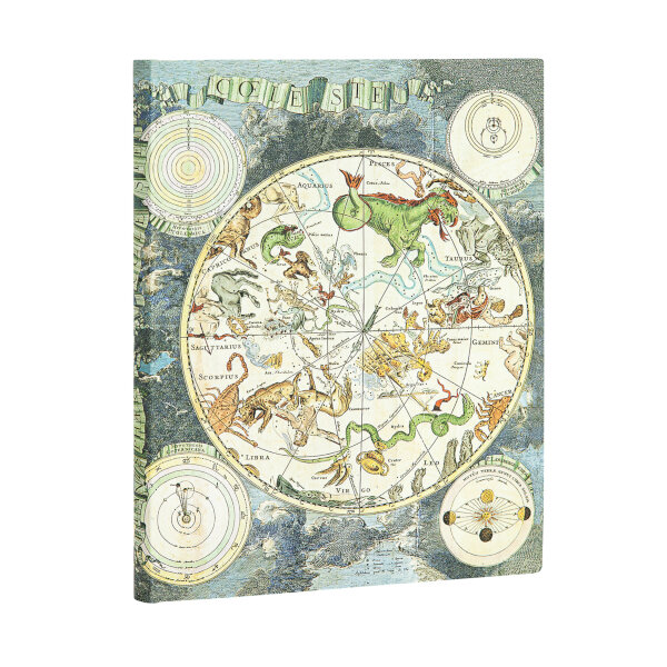 Paperblanks Flexis Ultra Celestial Planisphere 7x9 Inch